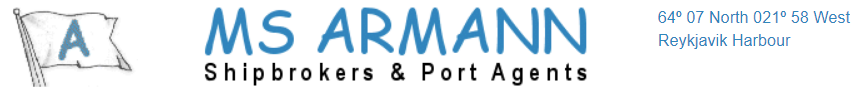 MS Armann Shipbrokers & Port Agents