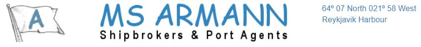 MS Armann Shipbrokers & Port Agents